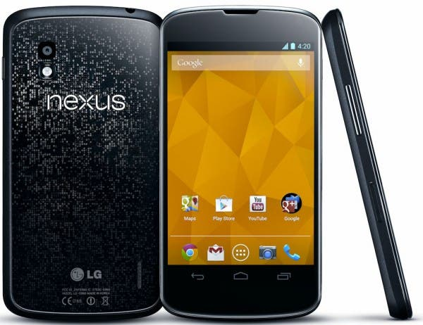 Nexus 4 mehr als 1 Million mal verkauft