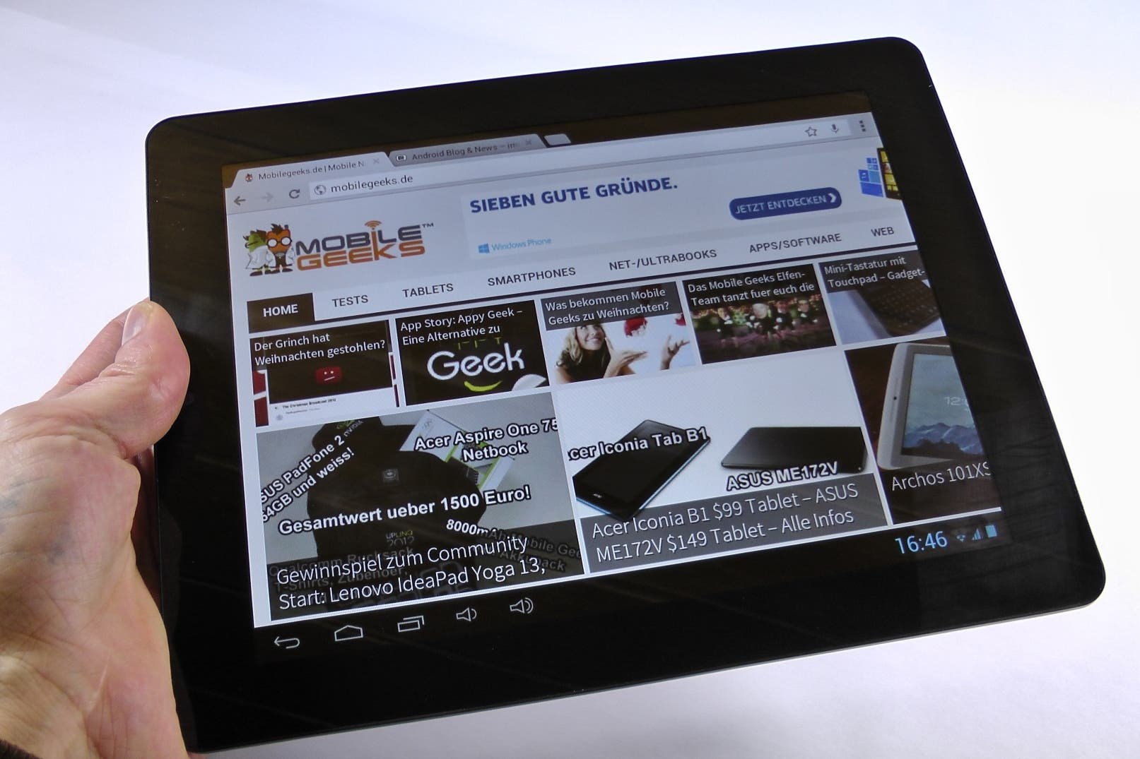 Touchlet X10.dual+ Unboxing – 9,7-Zoll Android Tablet mit UMTS