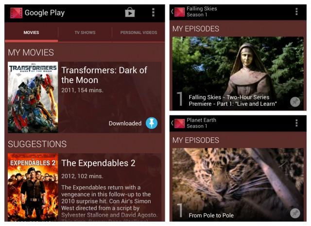 Google Nexus Geräte: kostenlose Inhalte in den USA