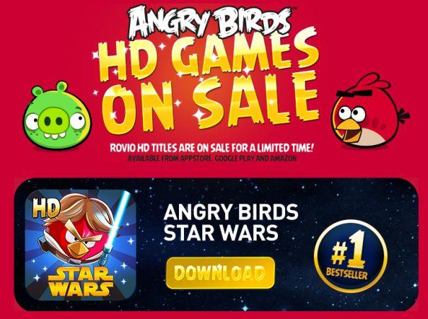 Rovio: Angry Birds und Co auf 89 Cent reduziert