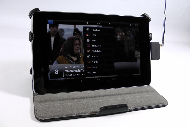 EyeTV Micro – DVB-T Empfänger für Android-Geräte im Test