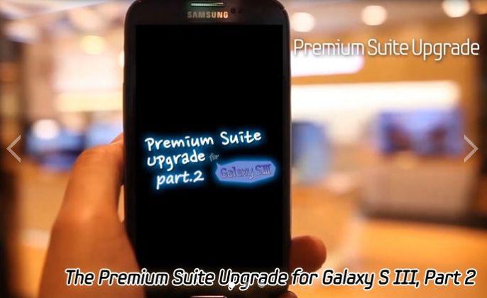 Premium Suite für Samsung Galaxy S3 – weitere Details