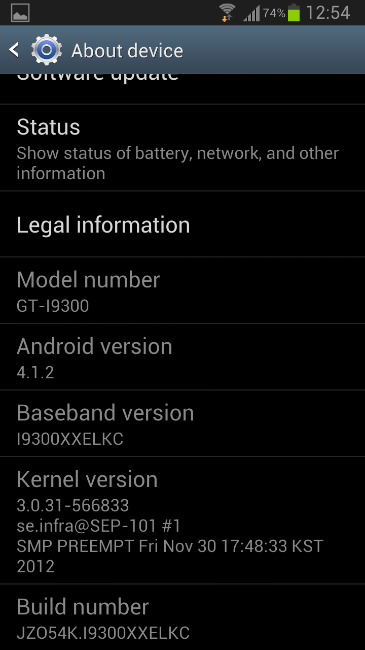 Samsung Galaxy S3 bekommt Android 4.1.2 Update mit vielen neuen Features