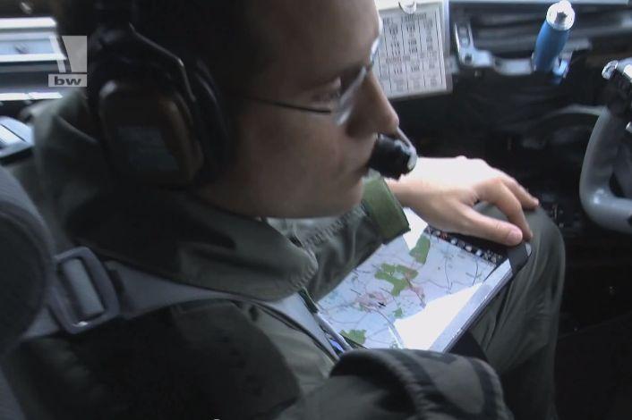 Bundeswehr nutzt Apple iPad in der Transall
