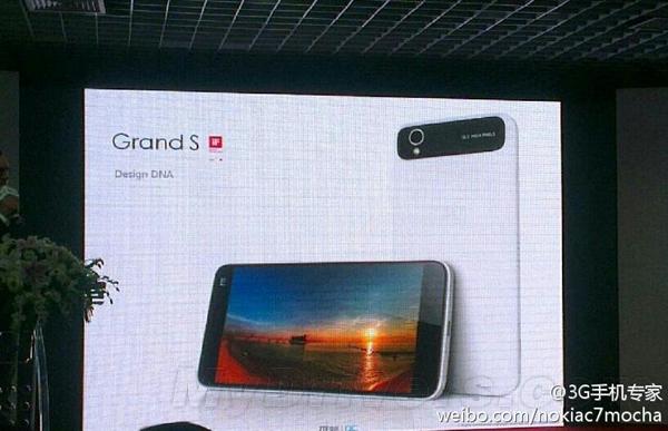 ZTE Grand S: 6.9 mm dünn und 13 Megapixel Kamera
