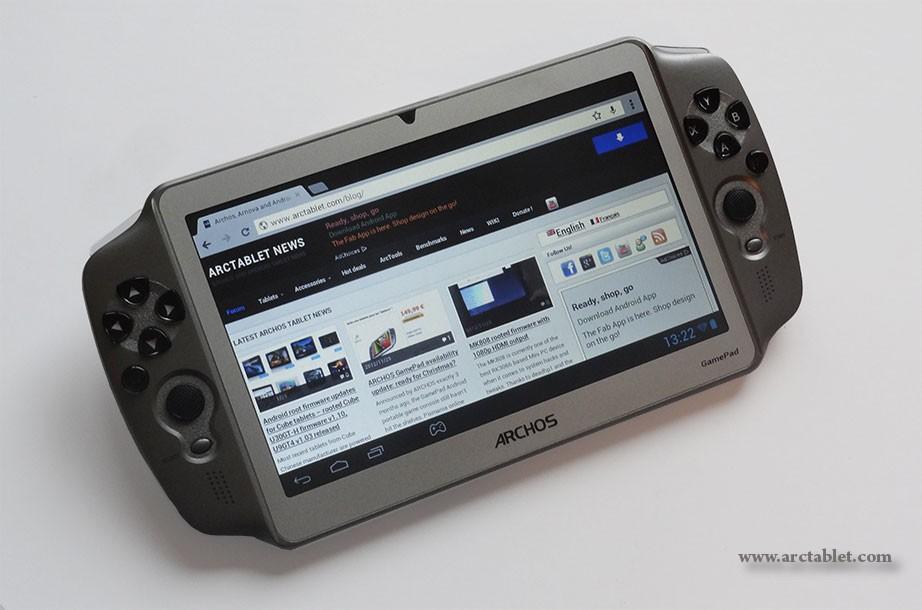 Videos: Archos GamePad Spiele-Tablet mit eingebauten Controllern getestet