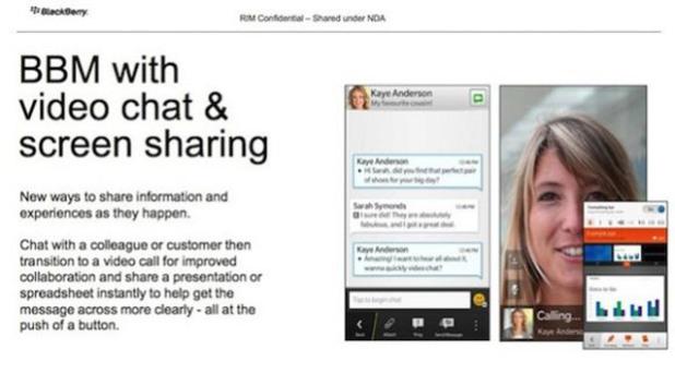 Leak: RIM bietet mit BlackBerry 10 Videokonferenzen an