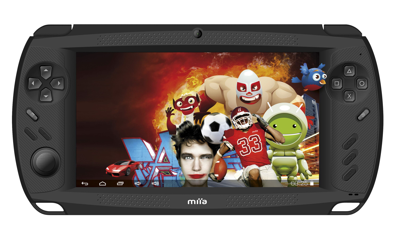 Miia GameTAB7 Spiele-Tablet kommt für 120 Euro