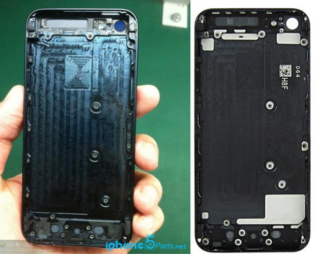Leak zeigt Gehäuseteile des Apple iPhone 5S