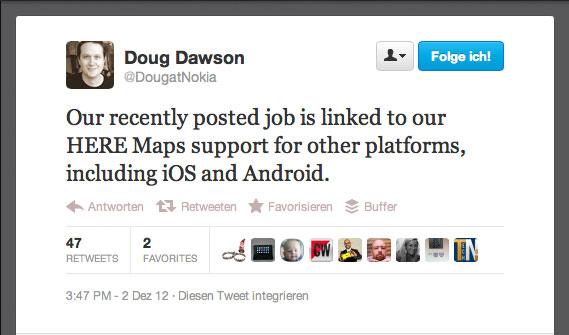 Nokia: Nein, keine Android Geräte von uns!