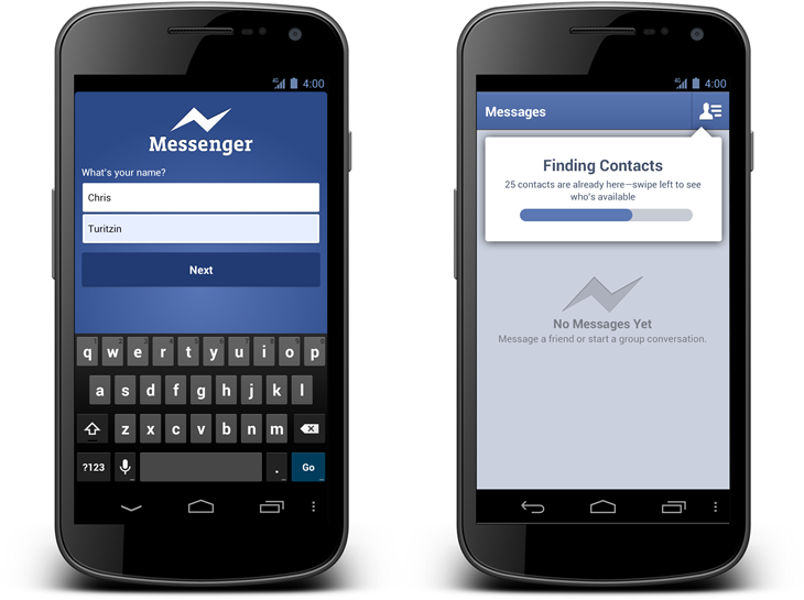 Facebook Messenger ohne Facebook-Account
