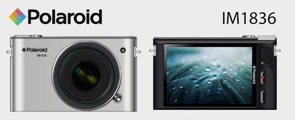 Polaroid IM1836 als erste Systemkamera mit Android und Wechselobjektiven?