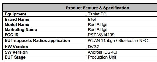Intel bastelt an Red Ridge – Android Tablet mit Medfield CPU
