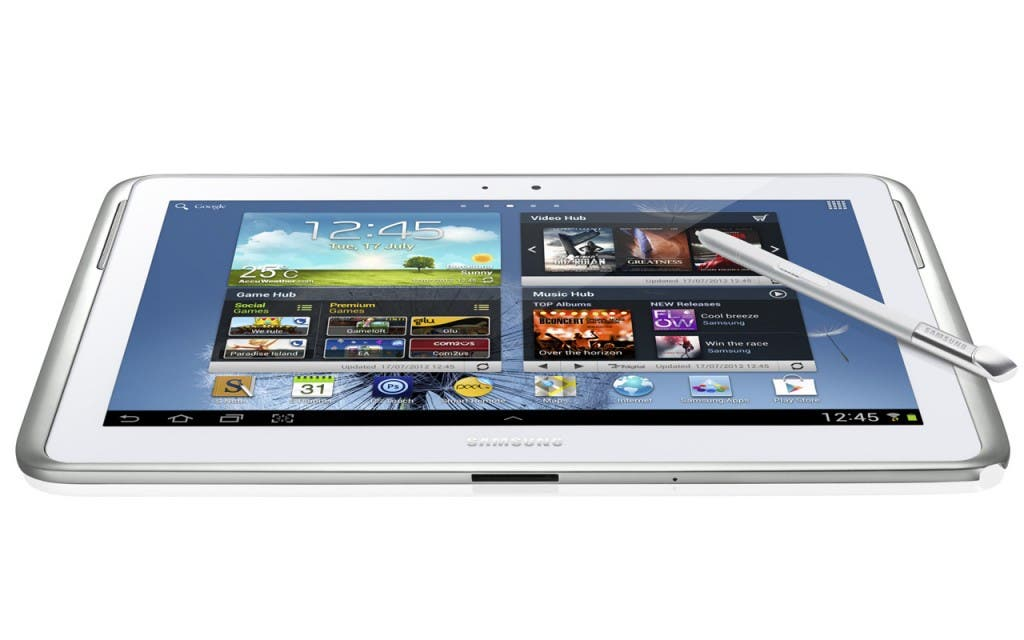 LG will Samsung Galaxy Note 10.1 verbieten lassen