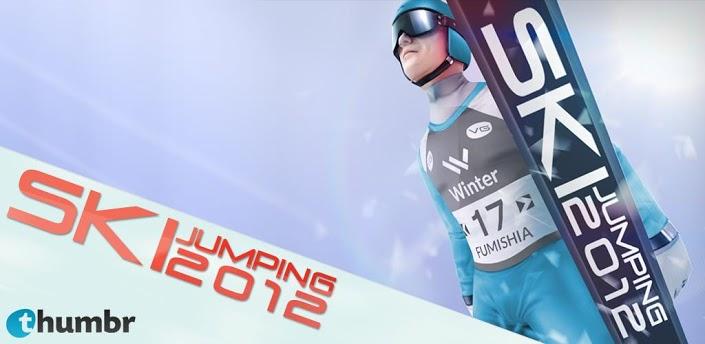 Mit Ski Jumping 12 für Android ab in den Weltcup
