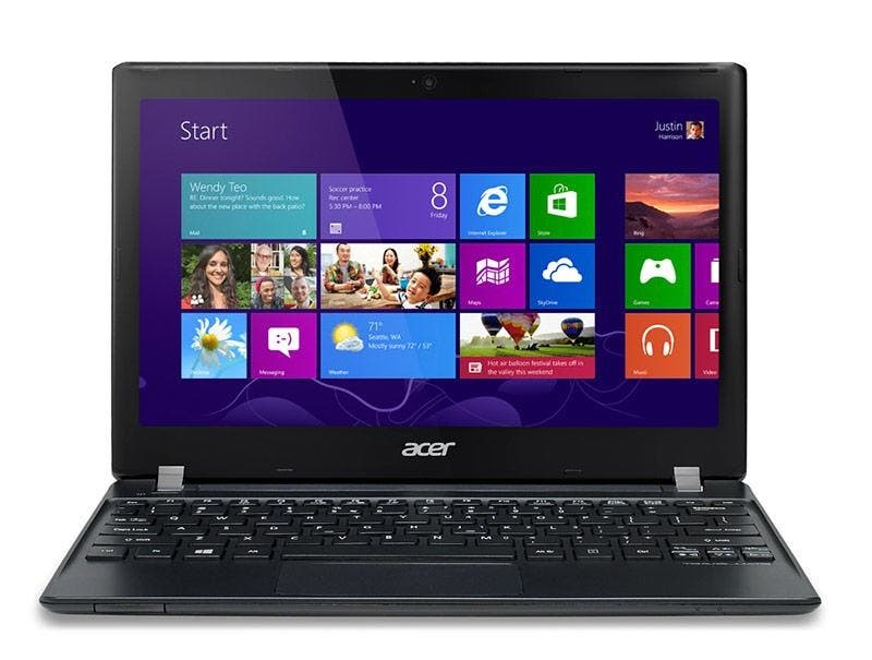 Acer TravelMate B113 – Günstiger 11,6-incher mit mattem Display jetzt auch mit Windows 8