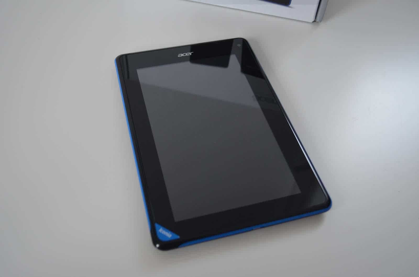 Acer Iconia B1-A71 im Unboxing-Video und Vergleich mit dem Nexus 7