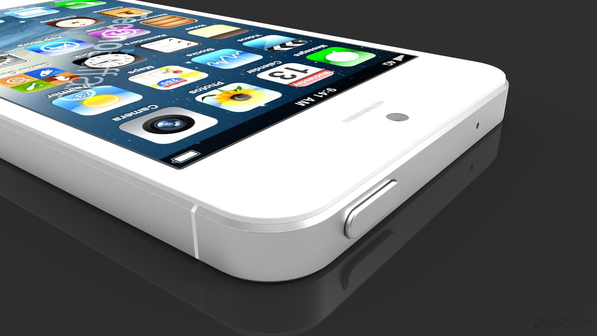 iPhone 5S Gerüchte: Fingerabdruck Scanner und NFC