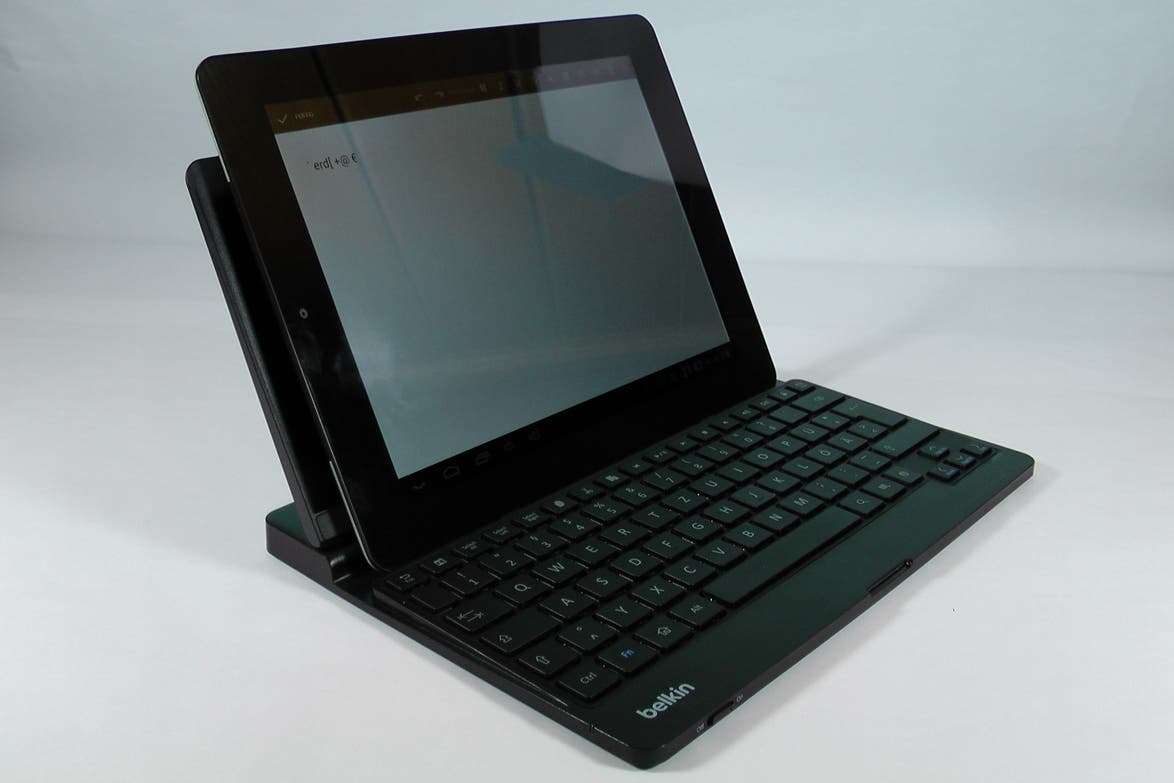 Belkin YourType – Bluetooth-Tastatur für Android-Tablets im Test