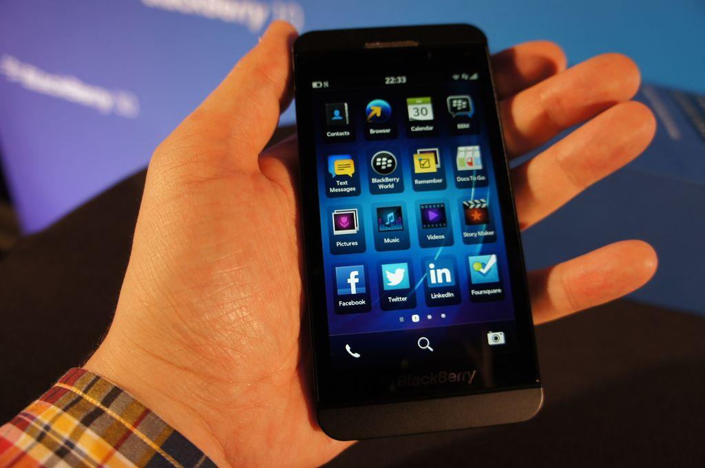 Instagram für BlackBerry 10 schon in Planung?