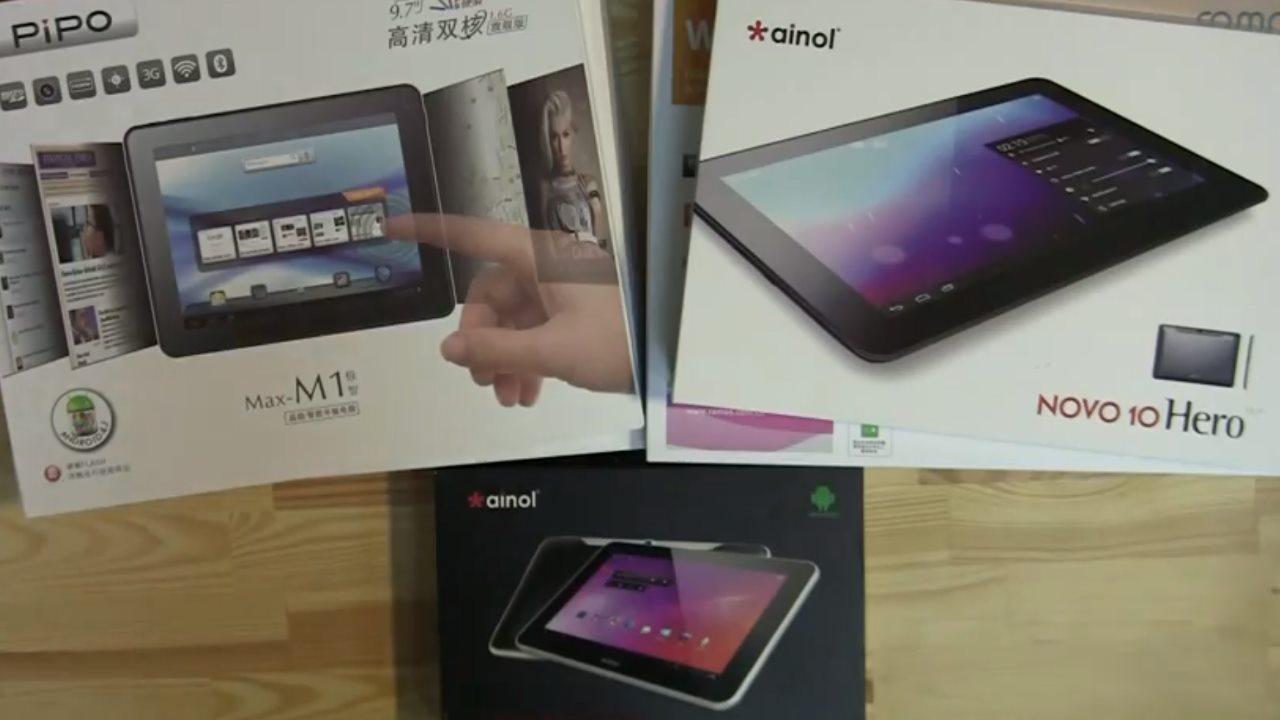 5 neue China Tablets fuer unter 220 Euro in der Uebersicht [Video]
