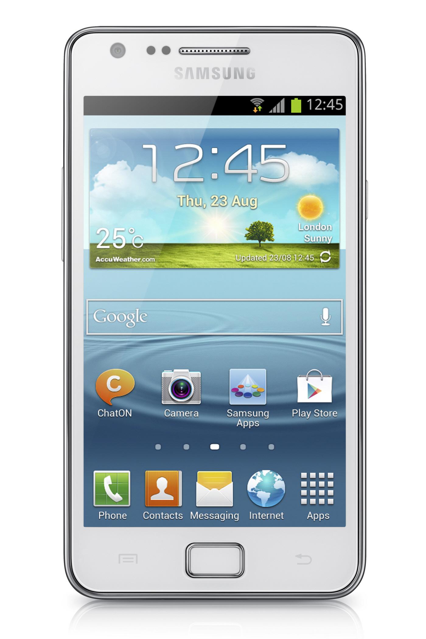 Samsung Galaxy S2 Plus offiziell vorgestellt – Neue Software, bekannte Hardware