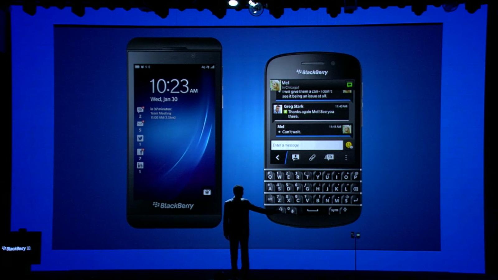 BlackBerry Z10 und BlackBerry Q10 offiziell vorgestellt – Videos, Specs & Termine