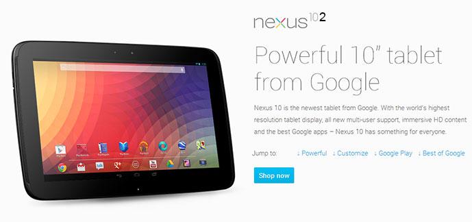 Google Nexus 10 mit Quadcore und neuer GPU zum MWC 2013?!