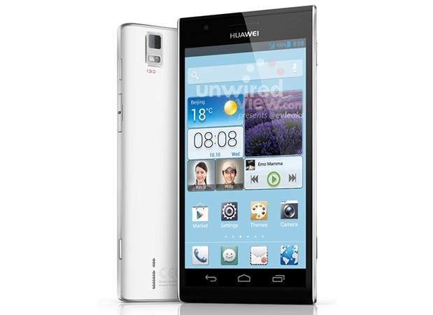 Huawei Ascend P2: 4.5-inch Full HD Smartphone taucht mit erstem Bild und Spezifikationen auf
