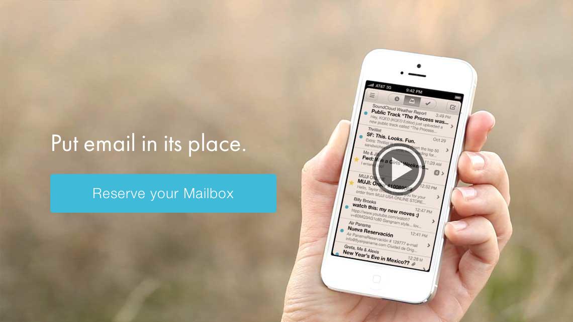 Reservierungen für iPhone App Mailbox möglich