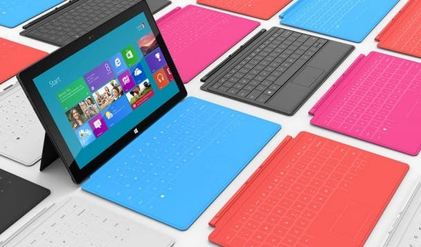 1 Million Microsoft Surface Pro Tablets zum Verkaufsstart