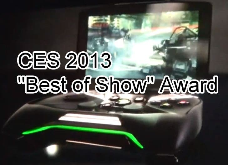 "CES 2013 – NVIDIA Project Shield erhaelt ""Best of Show"" Award der Mobile Geeks"