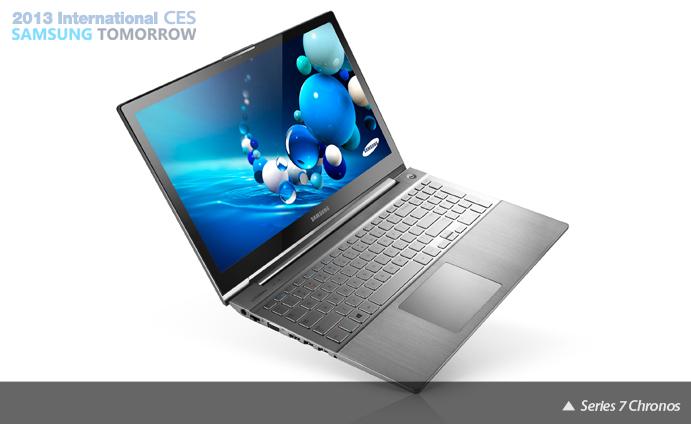 CES 2013: Samsung stellt neue Series 7 Chronos und Series 7 Ultra vor