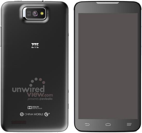 ZTE P945 – Günstiges Quad-Core-Smartphone mit 5,7-Zoll-Display geleakt