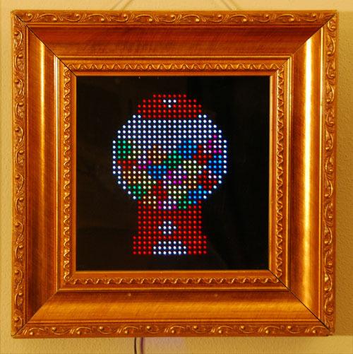 PIXEL: Kickstarter-Projekt verwandelt Spiegel in 8-Bit-Kunst