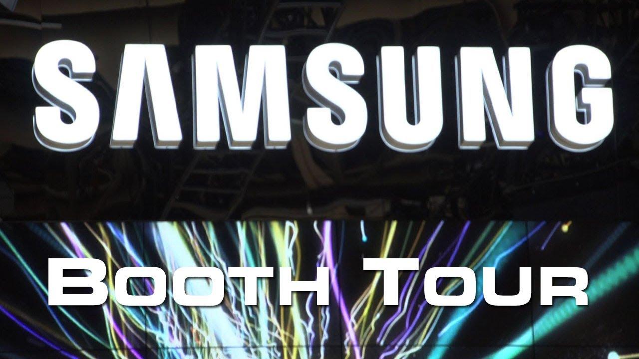 CES 2013: Rundgang über den Messeauftritt von Samsung