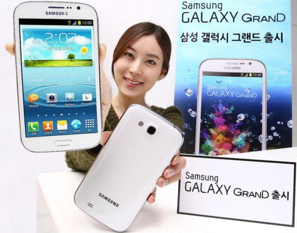 Samsung Galaxy Grand: in Korea mit Quad Core und LTE vorgestellt
