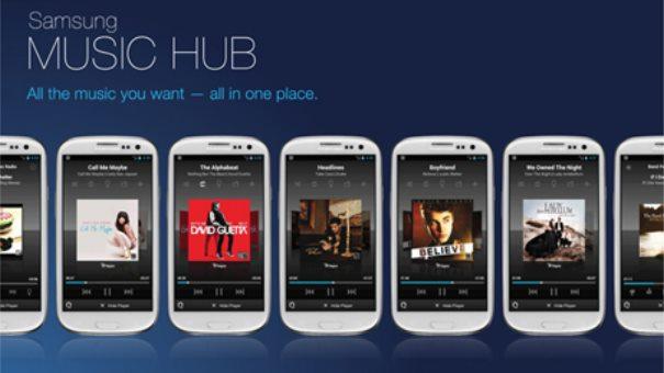 Samsung Music Hub fuer alle Android Plattformen – Konkurrenz fuer Amazon und Google
