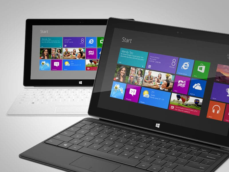Windows RT: Tablet-Preise sinken dank Misserfolg