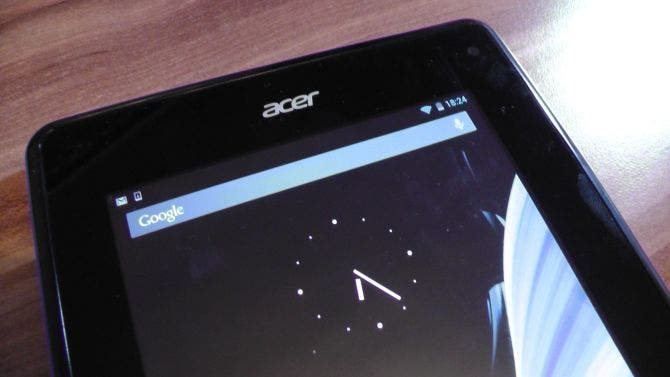 Acer Iconia B1 Unboxing und Kurztest