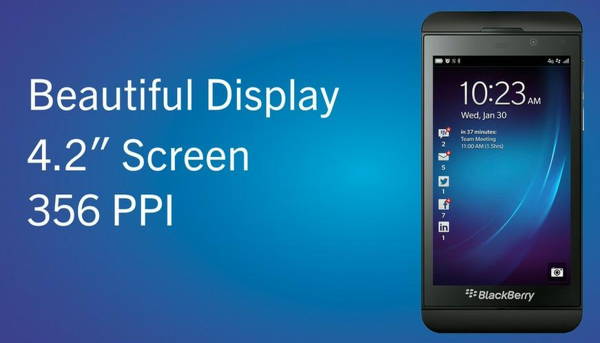 Erster Test des BlackBerry Z10 und BlackBerry OS 10
