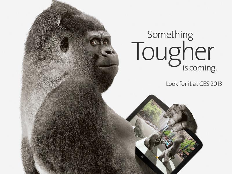 Corning Gorilla Glass 3 drei Mal weniger anfällig für Kratzer