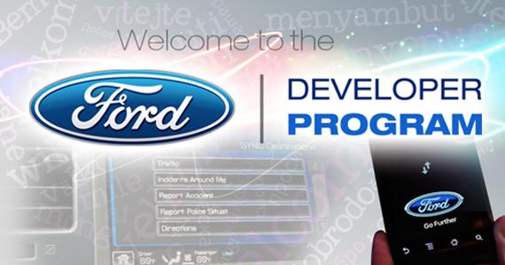 Apps für das Auto: Ford Entwickler Programm Sync AppLink