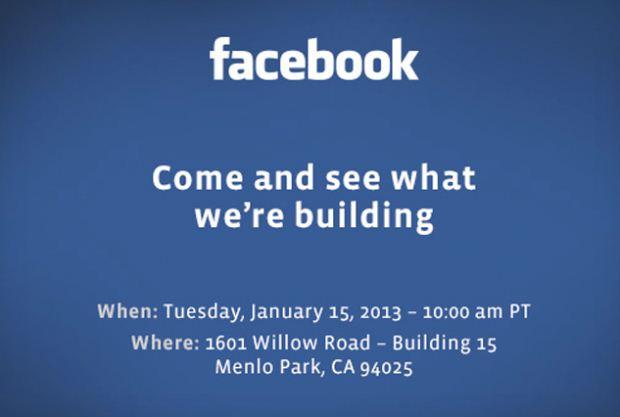 Facebook lädt ein: Kommt das Facebook-Phone?