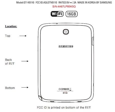 Samsung Galaxy Note 8.0 taucht bei FCC auf