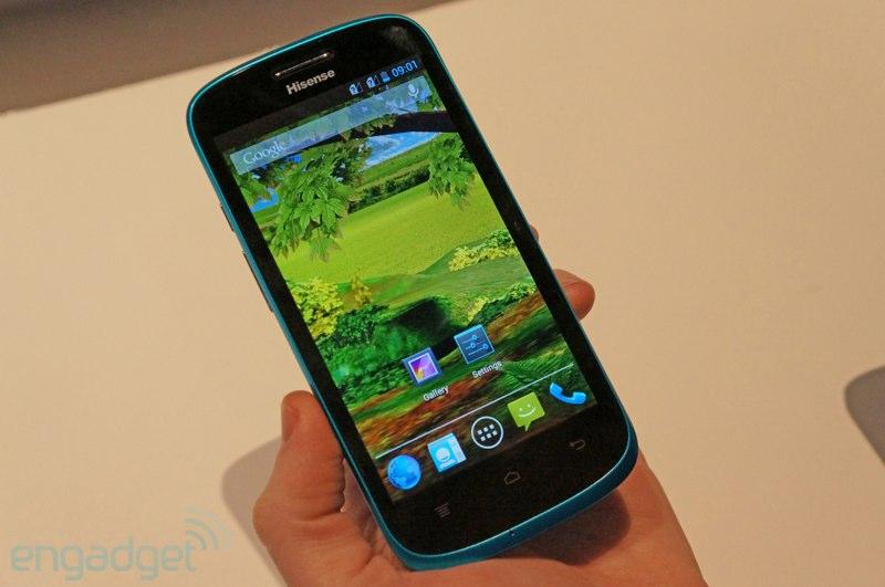 CES 2013: HiSense zeigt günstiges Quad-Core Android-Smartphone U958