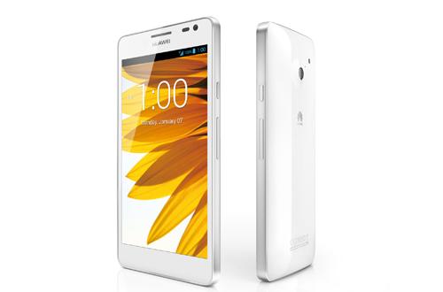CES 2013: Huawei Ascend D2 5-Zoll-Smartphone mit Quad-Core-CPU & 1080p-Auflösung