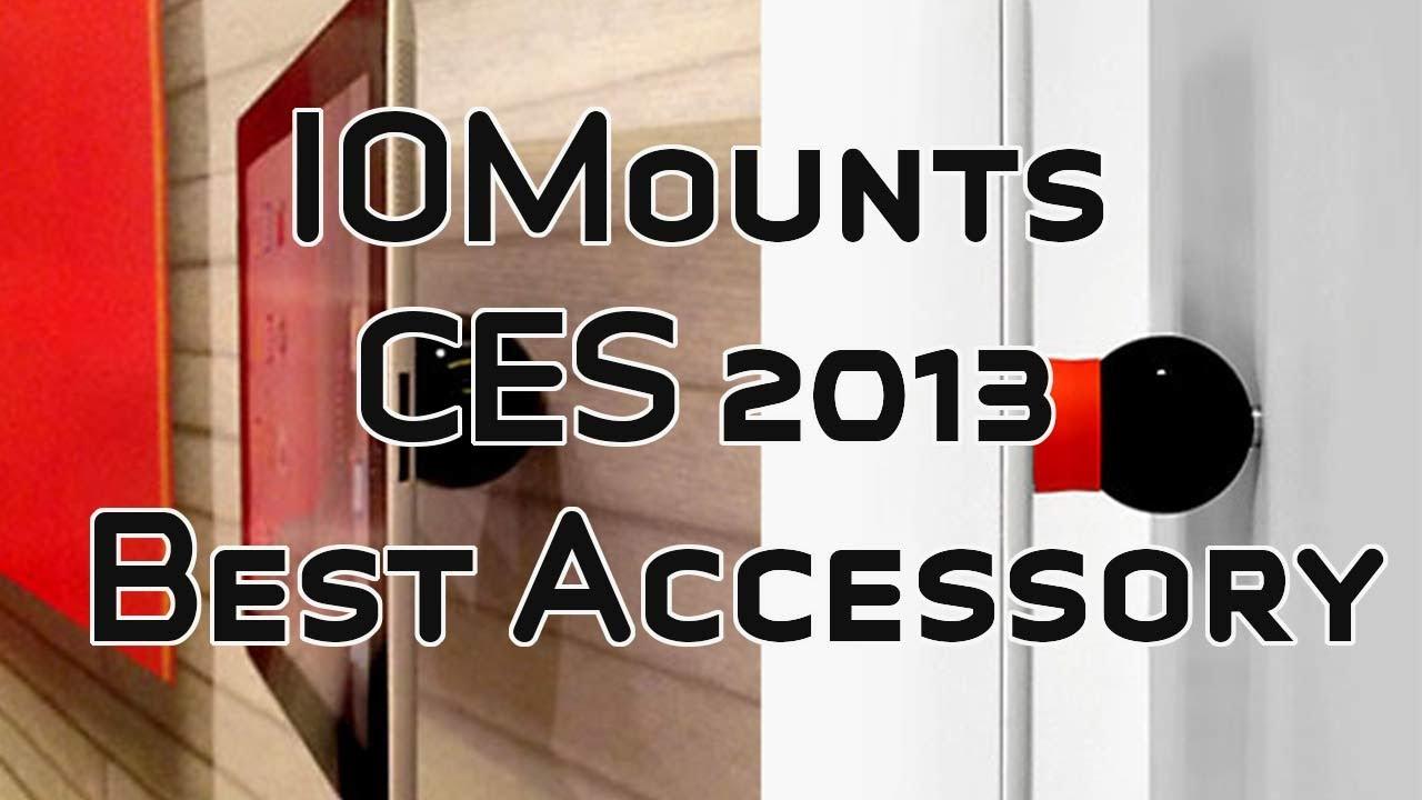 Magnetisches Halterungssystem iOStand nicht nur für iPads von iOmounts – CES2013