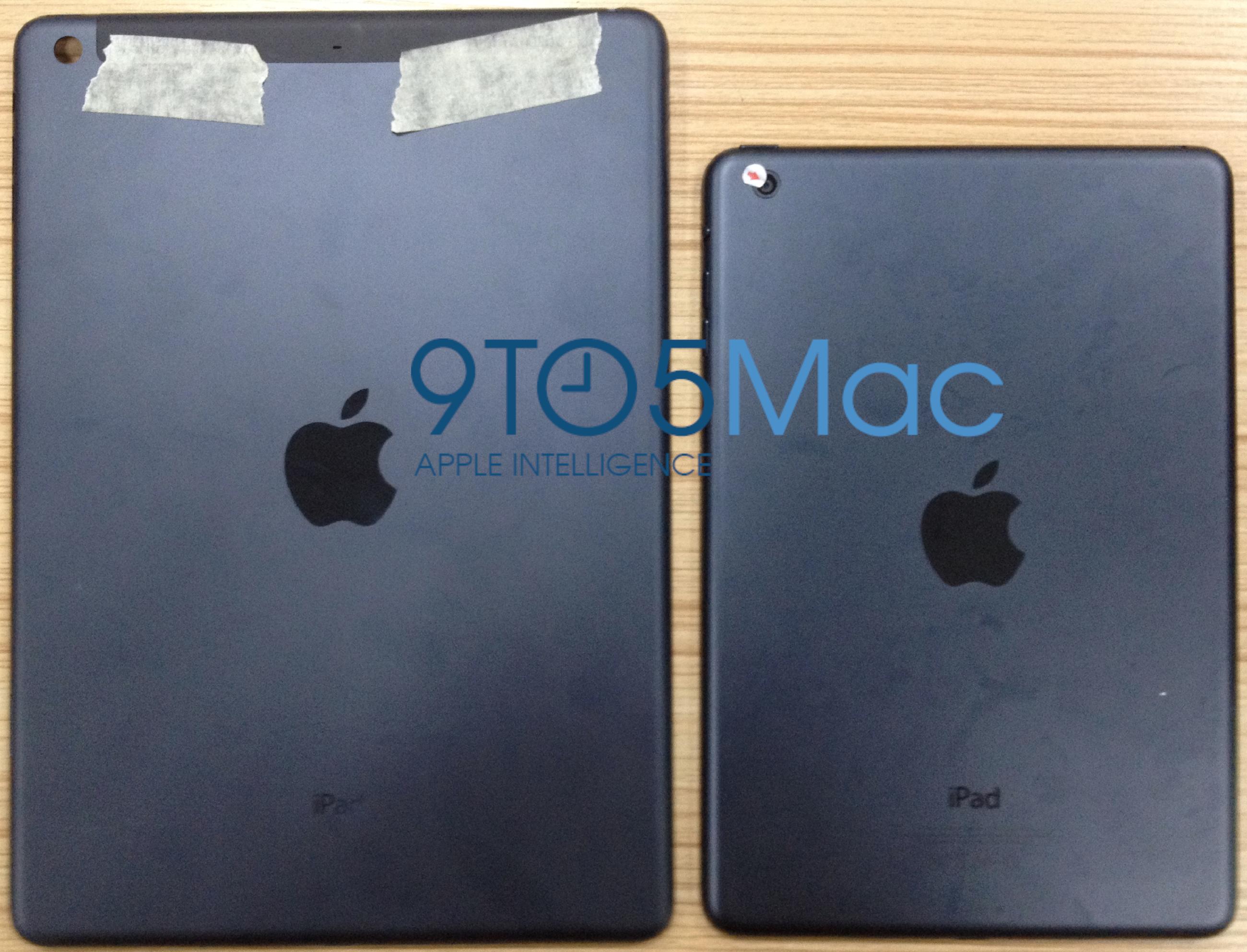 Neues iPad 5: Fotos der Rückseite?