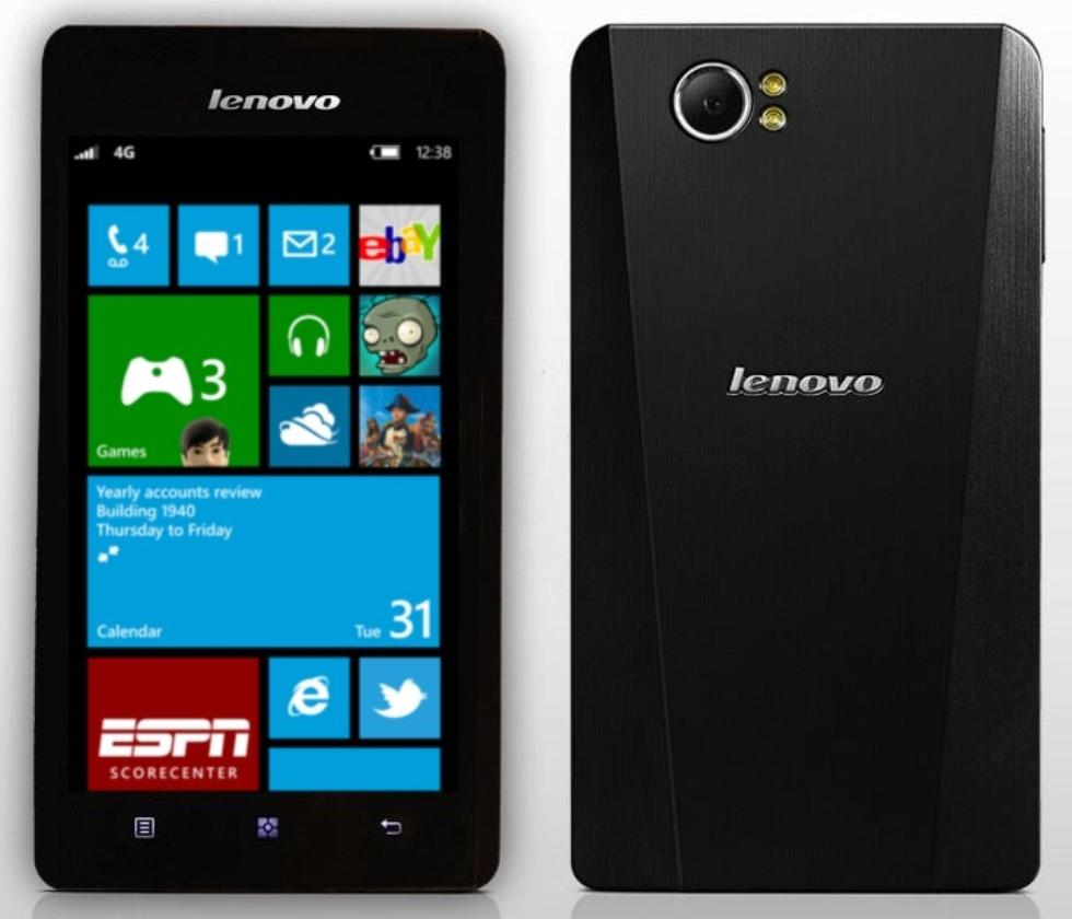 Lenovo-Smartphone mit Windows Phone 8 könnte noch 2013 erscheinen